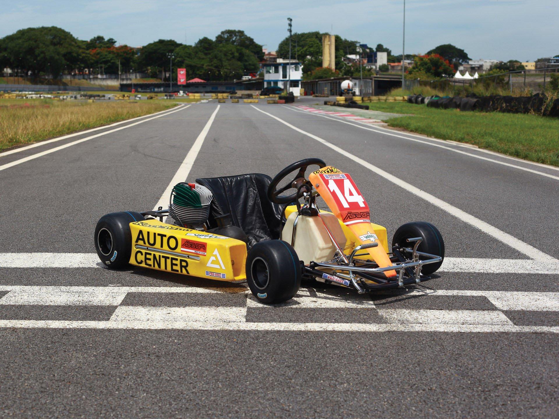 Last Kart Ayrton Senna 2