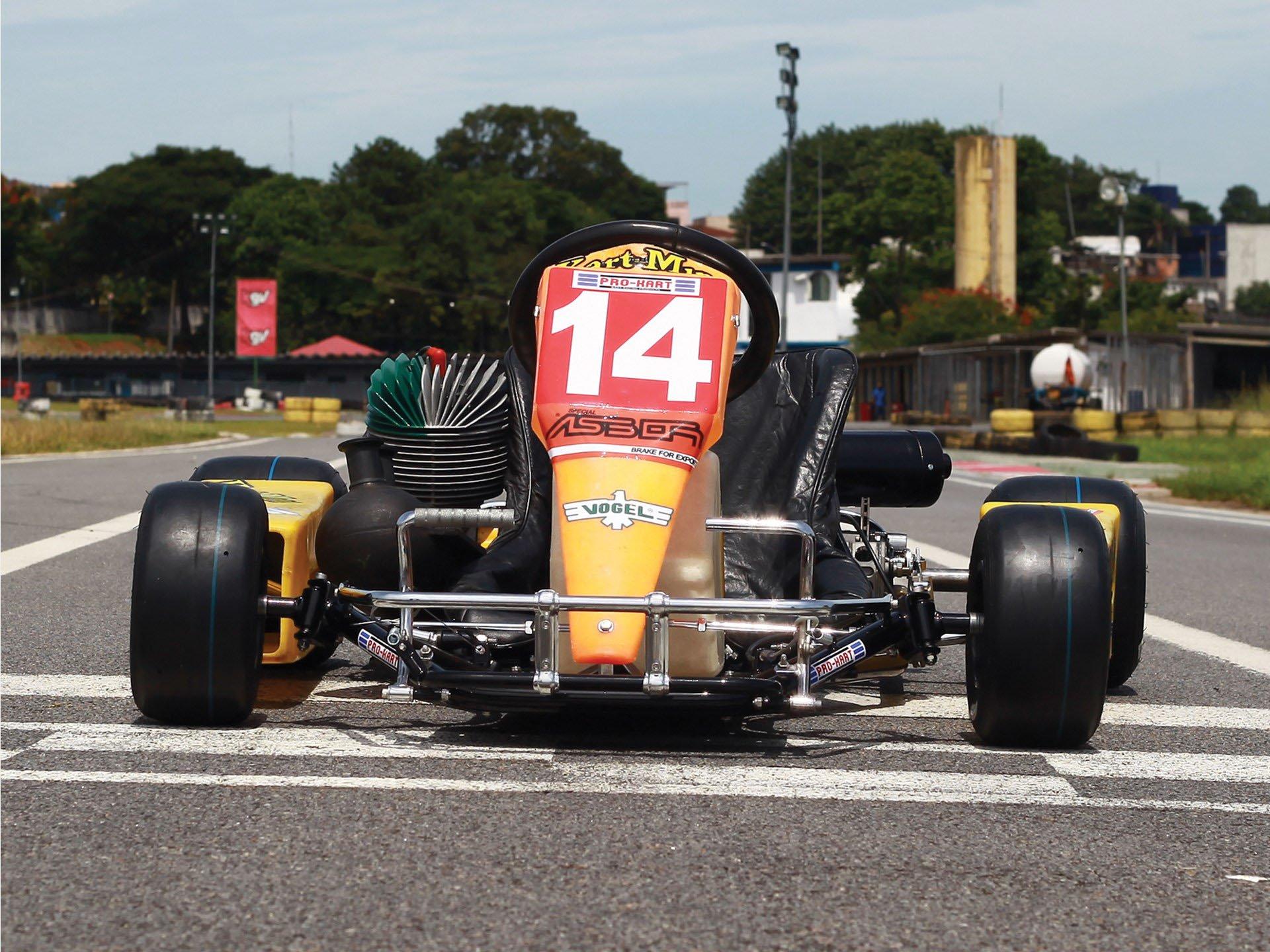 Last Kart Ayrton Senna 3
