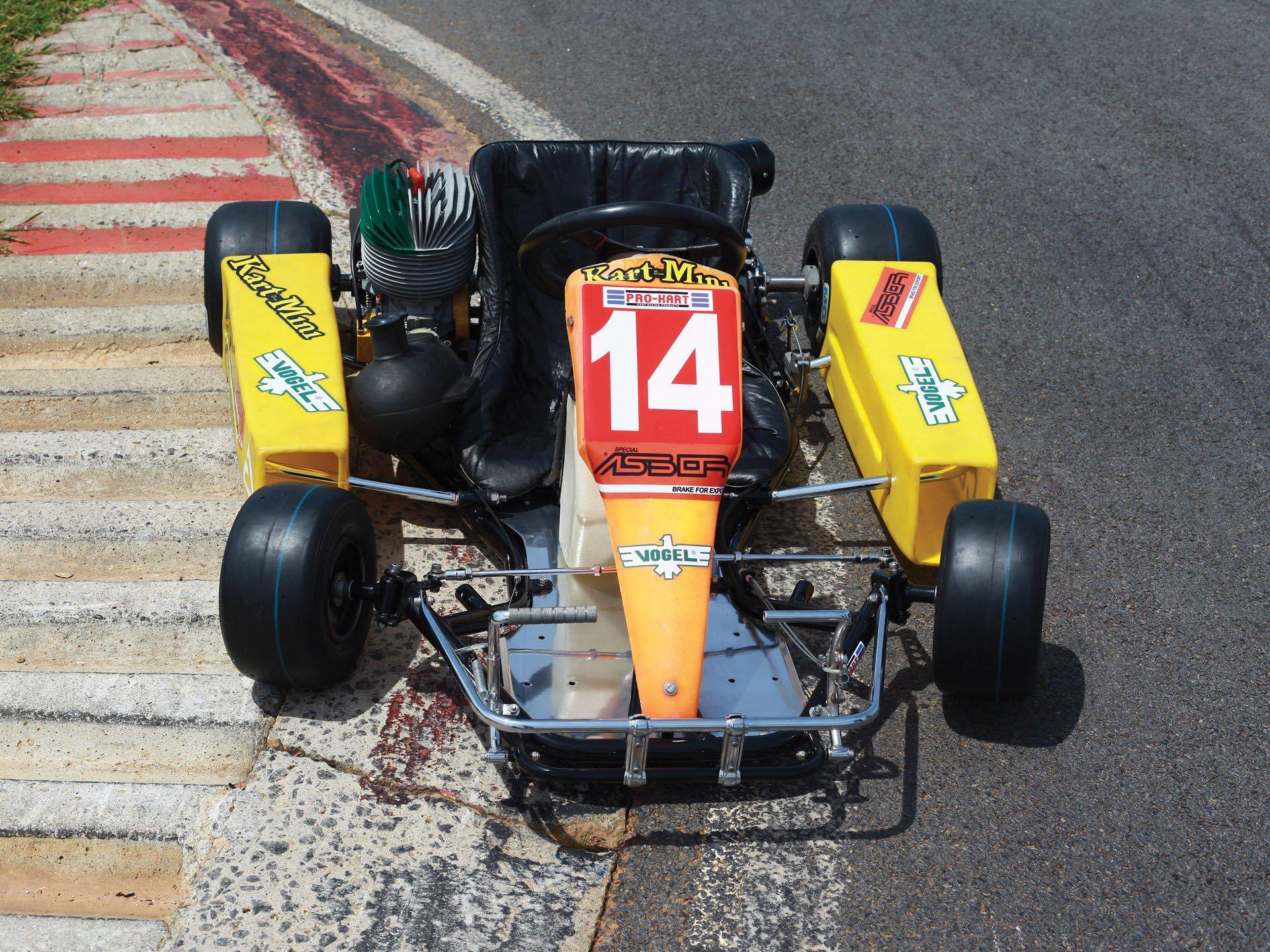 Last Kart Ayrton Senna 4