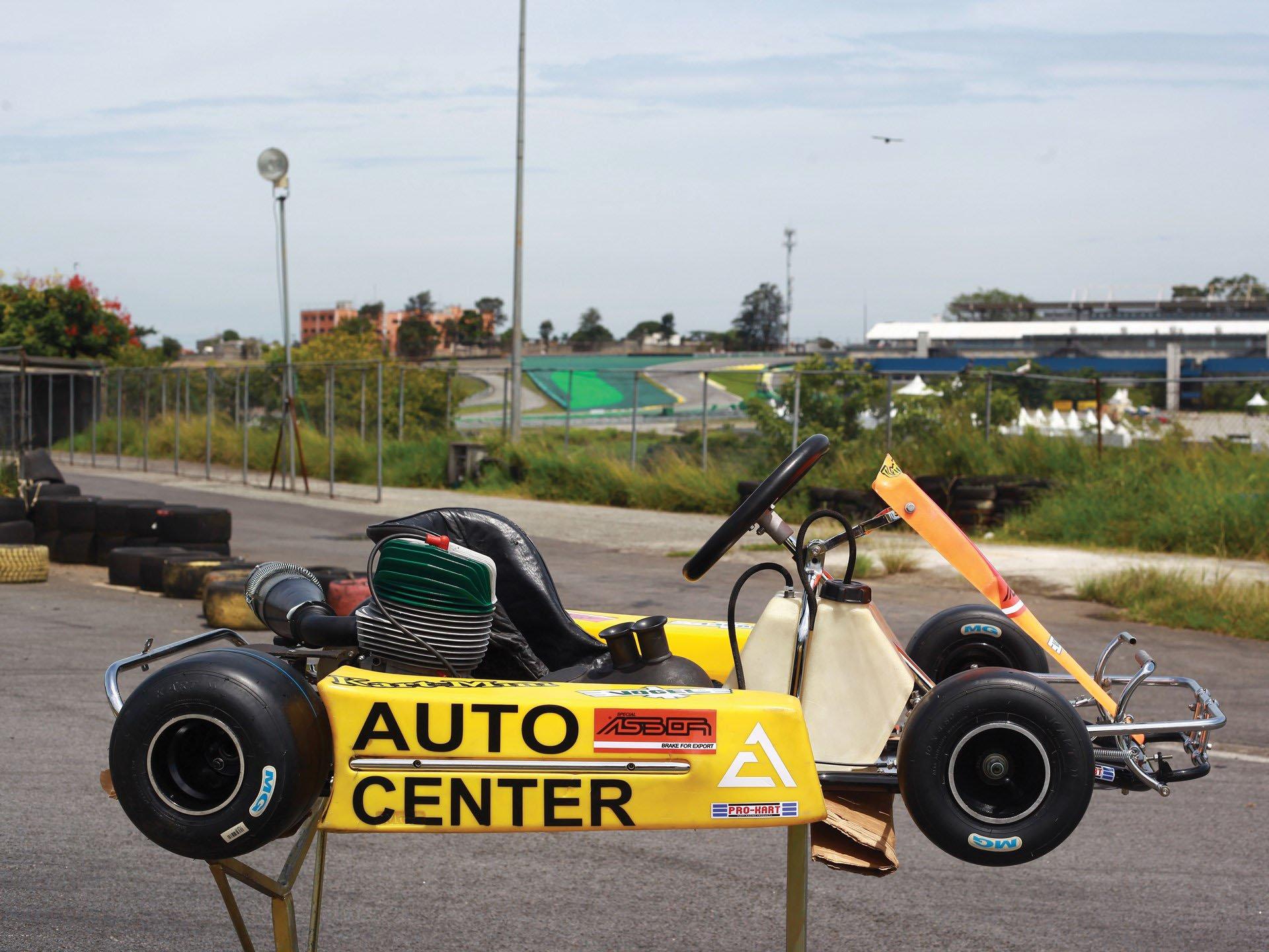 Last Kart Ayrton Senna 6