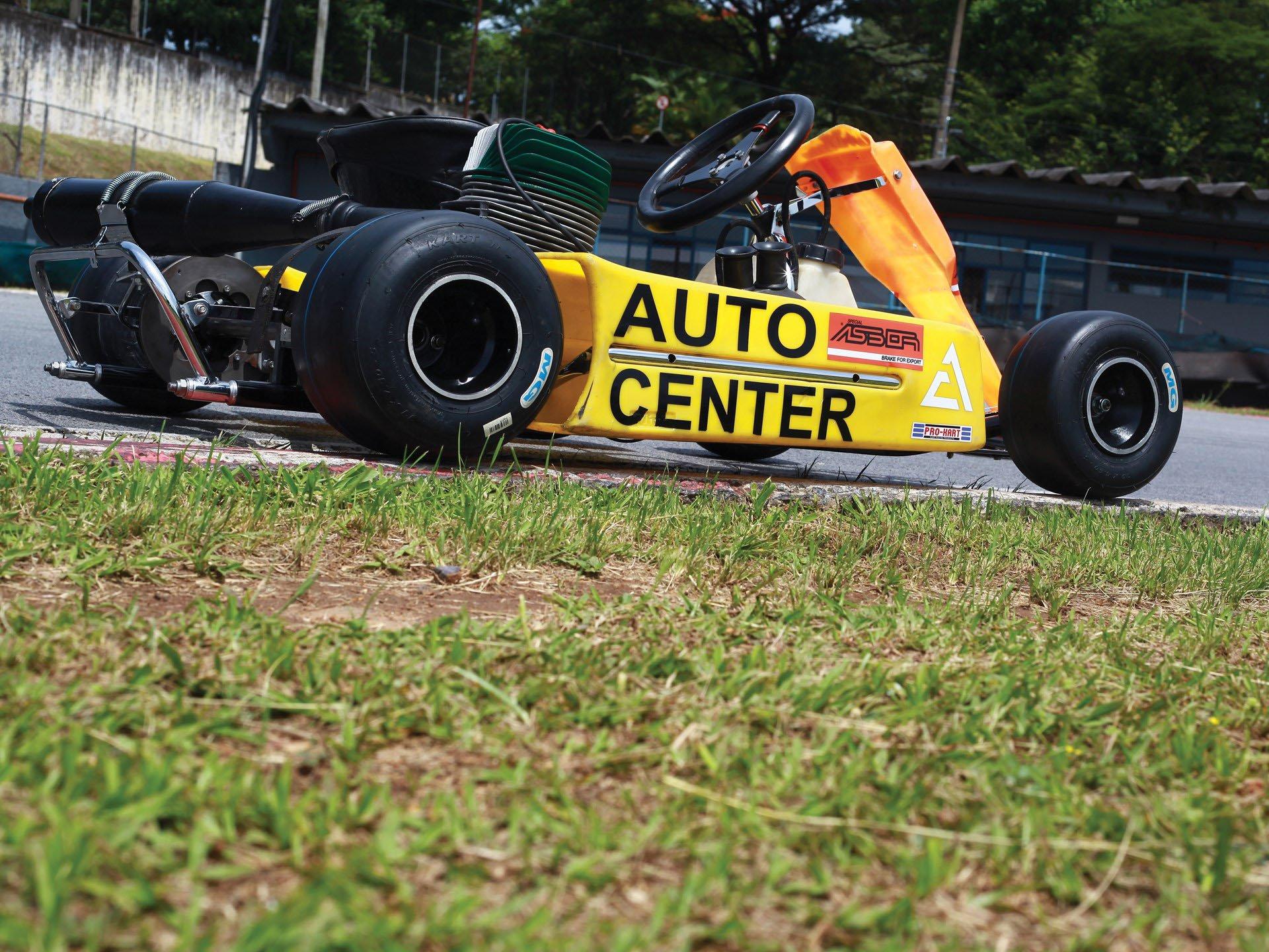 Last Kart Ayrton Senna 7