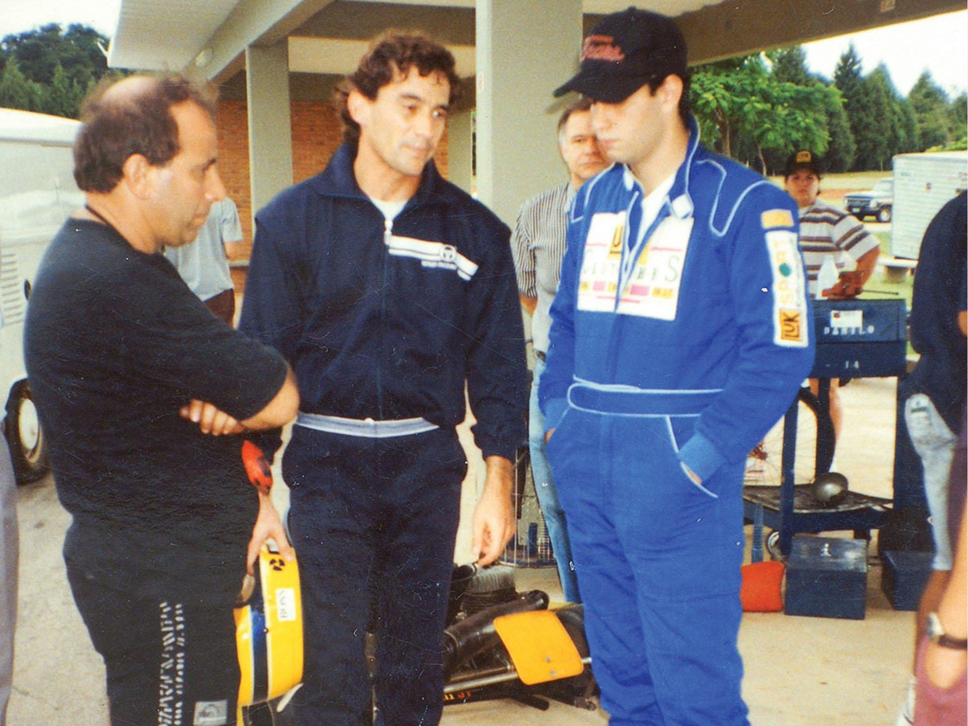 Last Kart Ayrton Senna 9