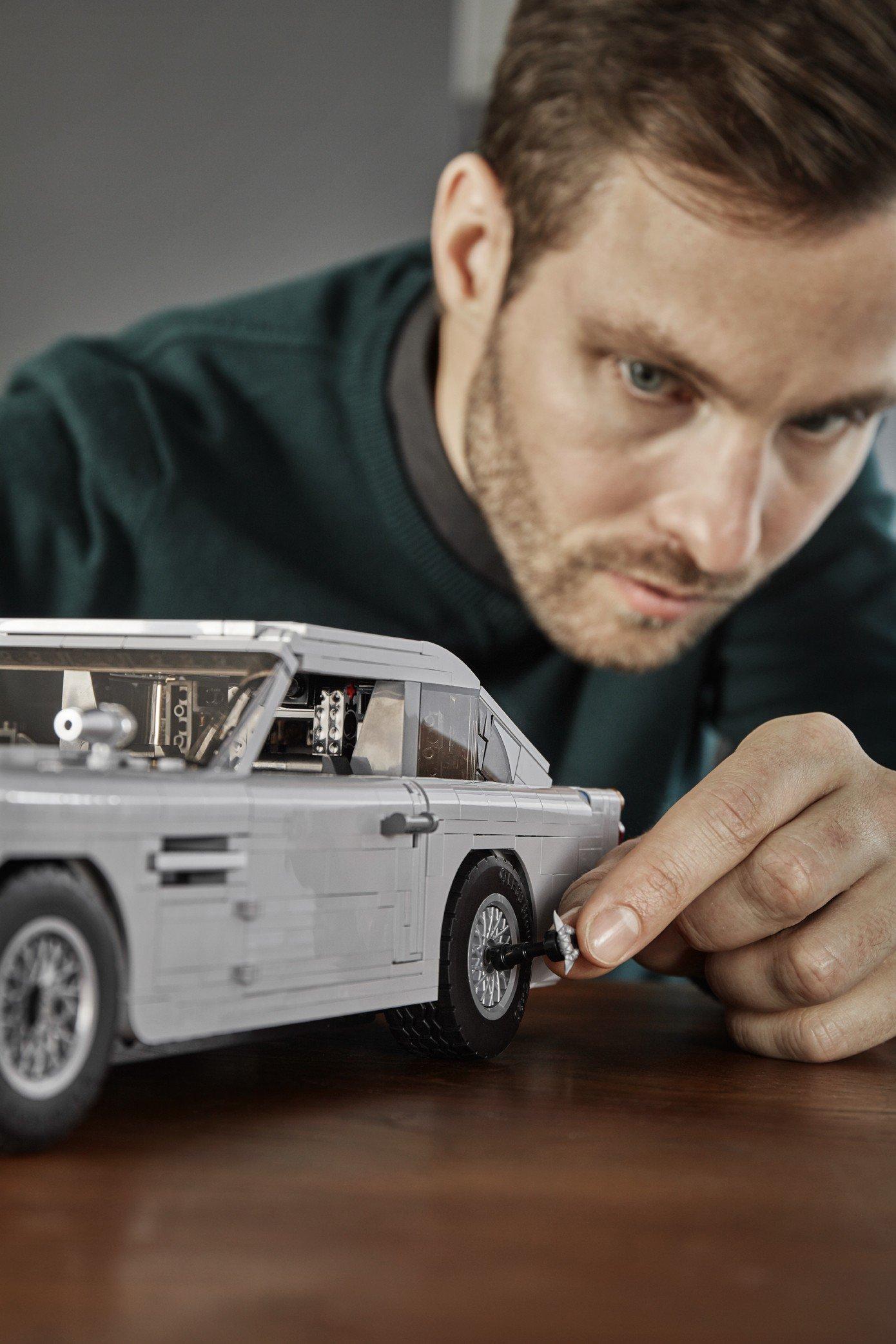 Lego Aston Martin DB5 (5)