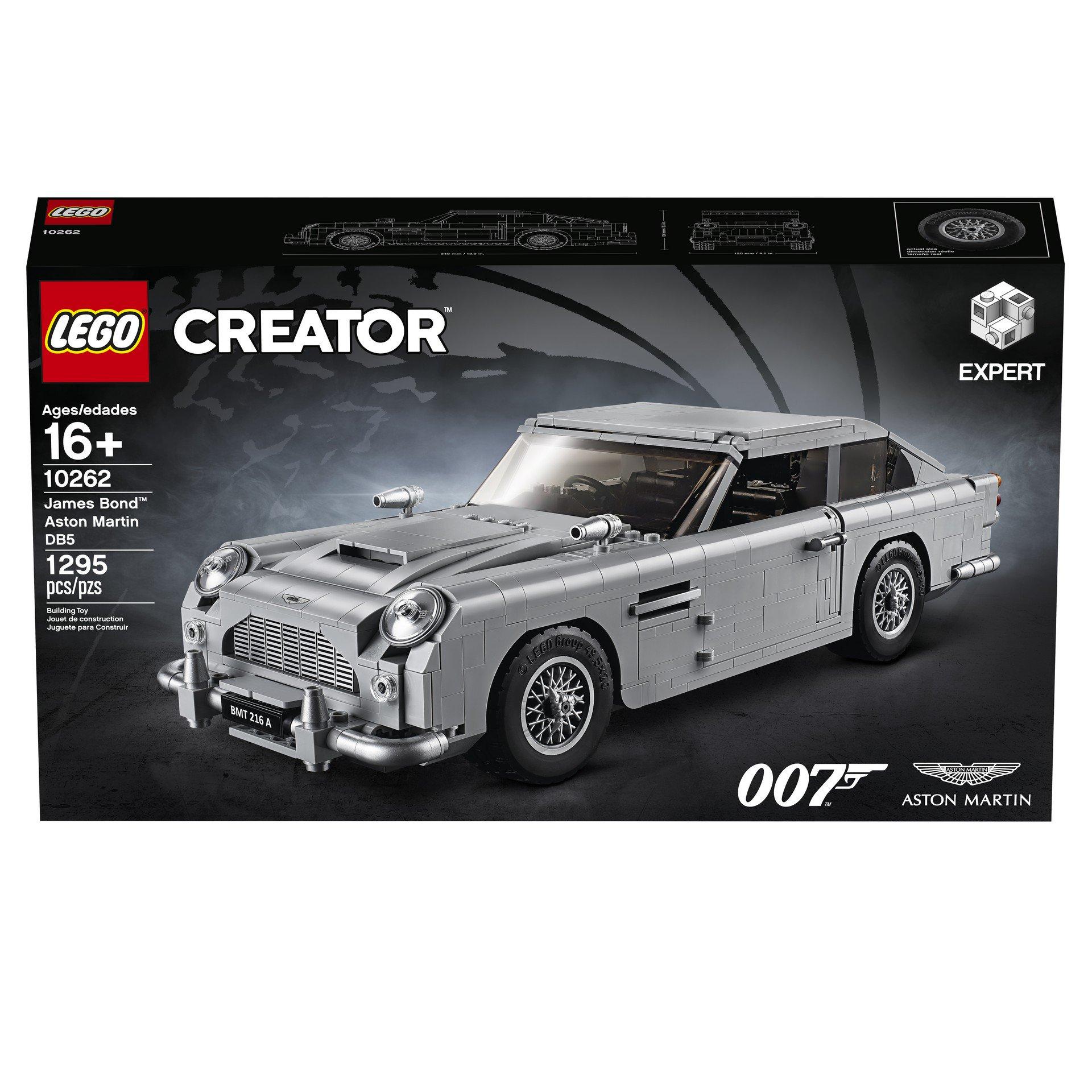 Lego Aston Martin DB5 (64)