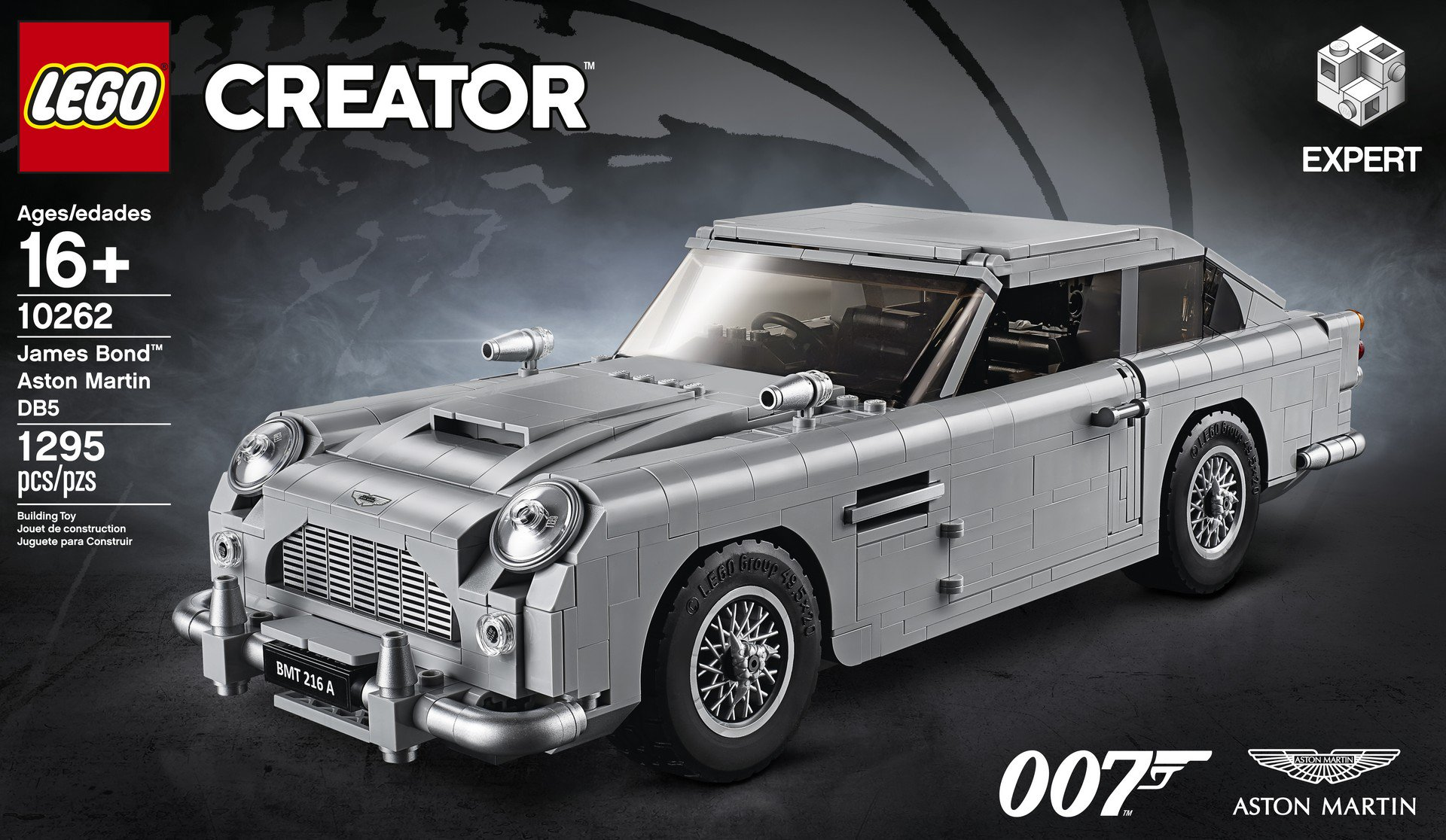 Lego Aston Martin DB5 (65)