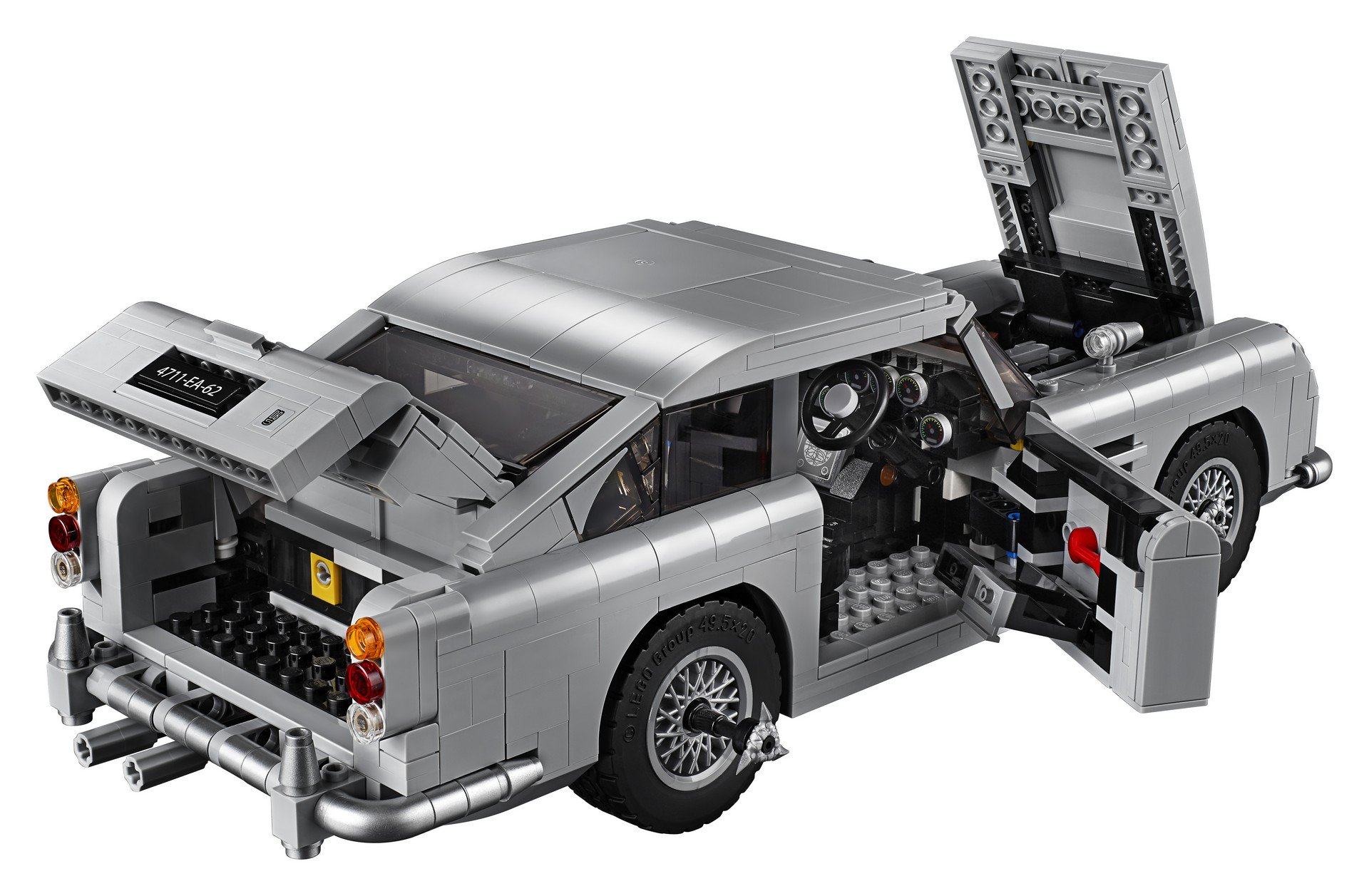 Lego Aston Martin DB5 (79)