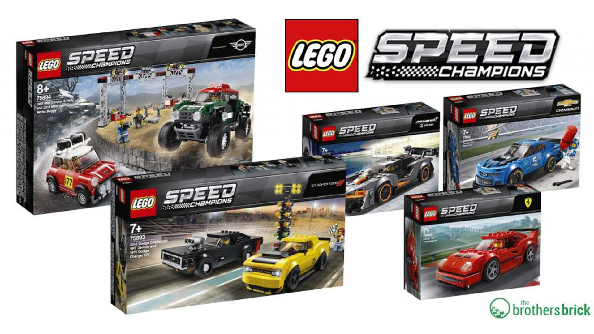 Lego Speed Champions sets 2019 (1)