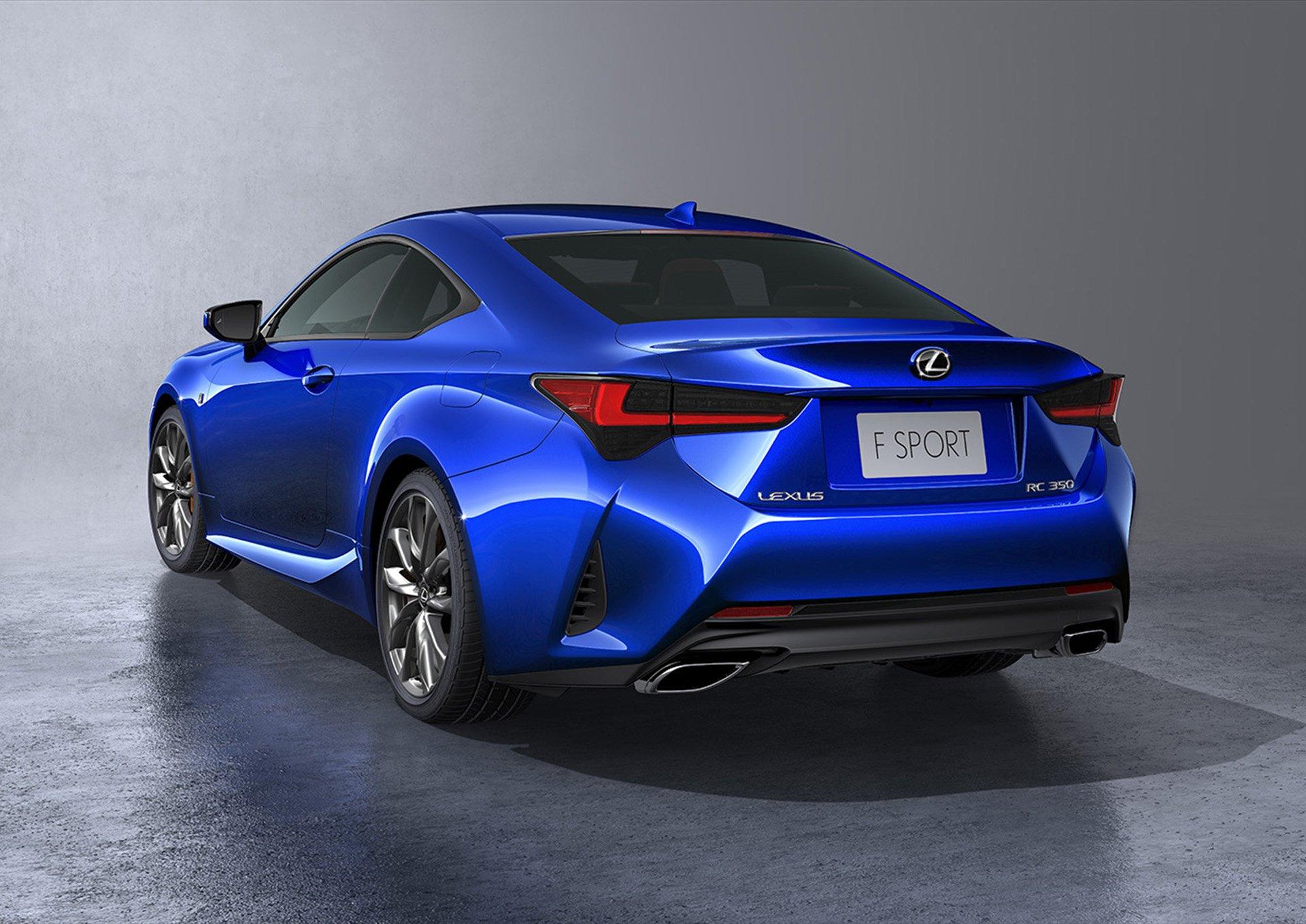 Lexus RC facelift 2019 (1)