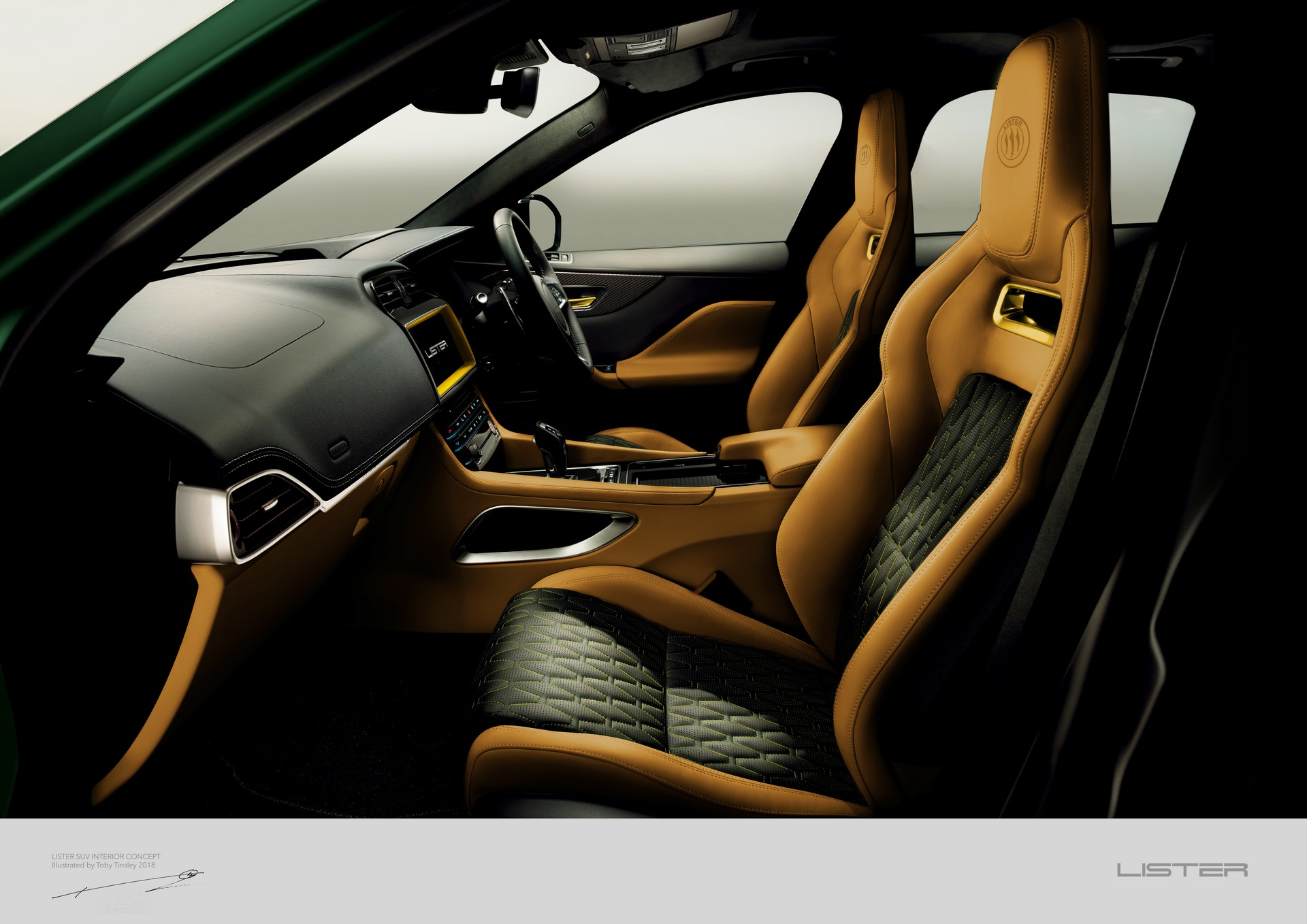 LISTER Interior A3 Front