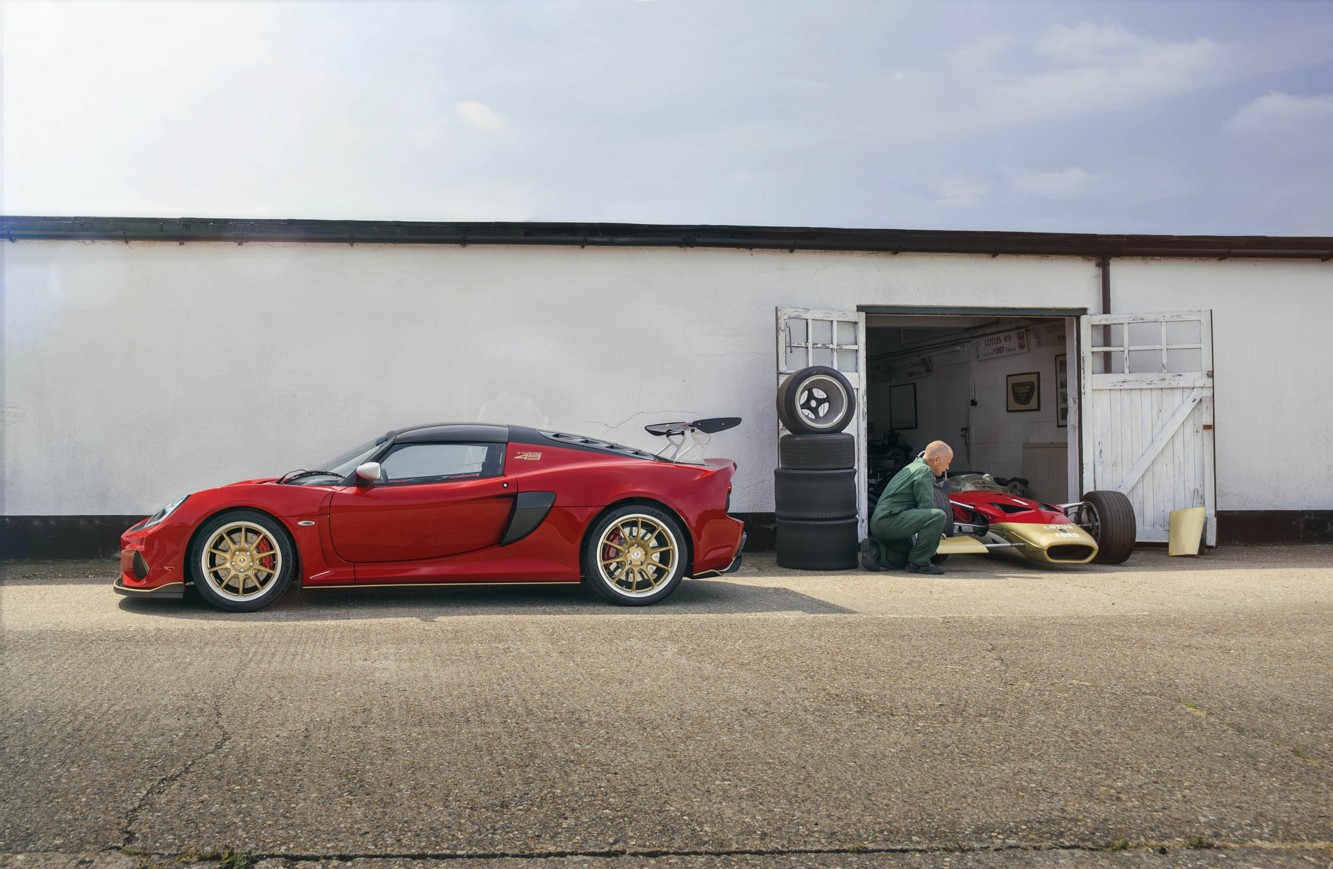 Lotus Exige Type 49 and Type 79 (1)