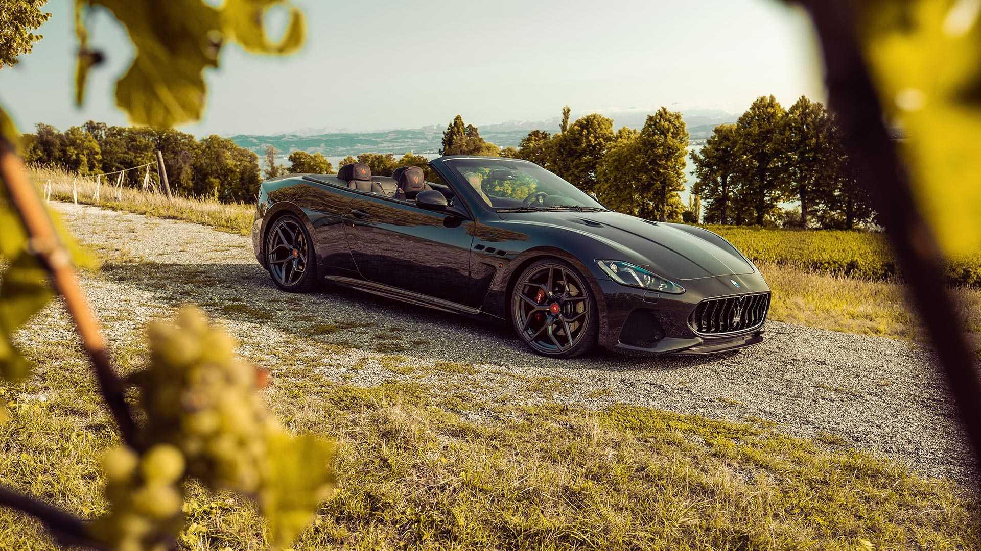 Maserati GranCabrio by Pogea Racing (1)