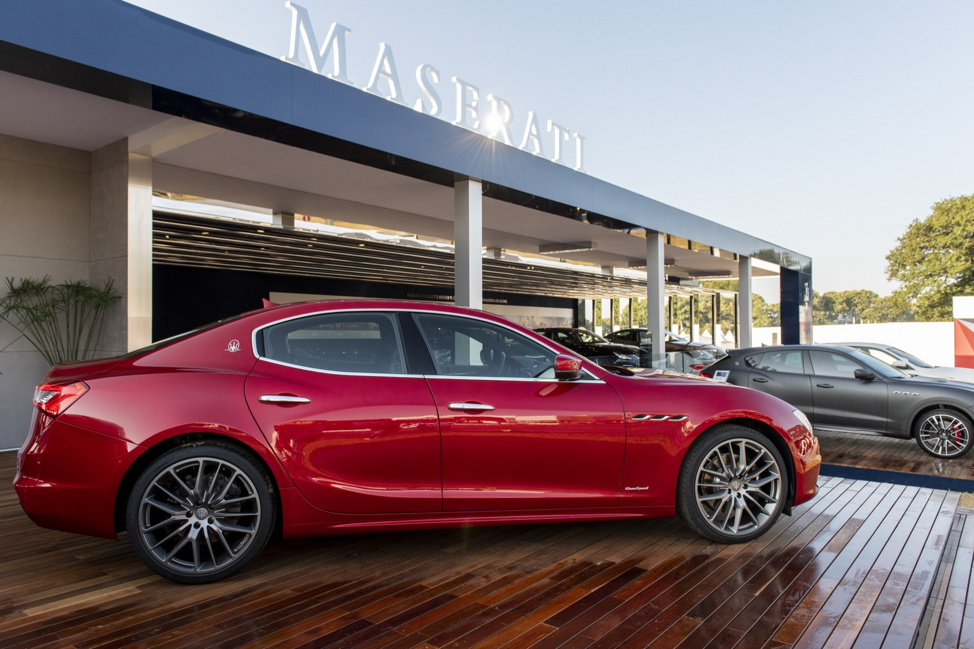 Maserati Ghibli GranSport - Maserati at Goodwood Festival of Speed