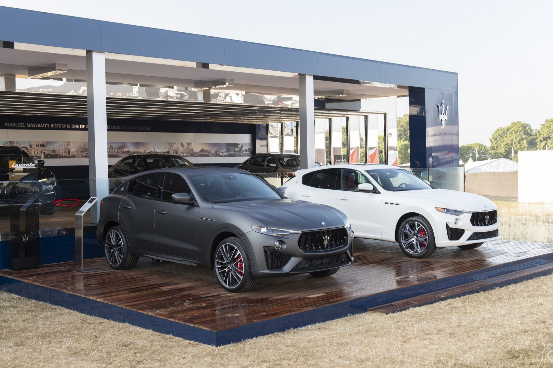 Maserati Levante Trofeo and Levante GTS - Maserati at Goodwood Festival of Speed