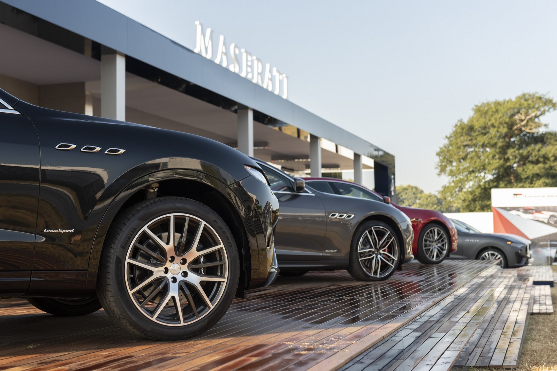 Maserati stand - Maserati at Goodwood Festival of Speed