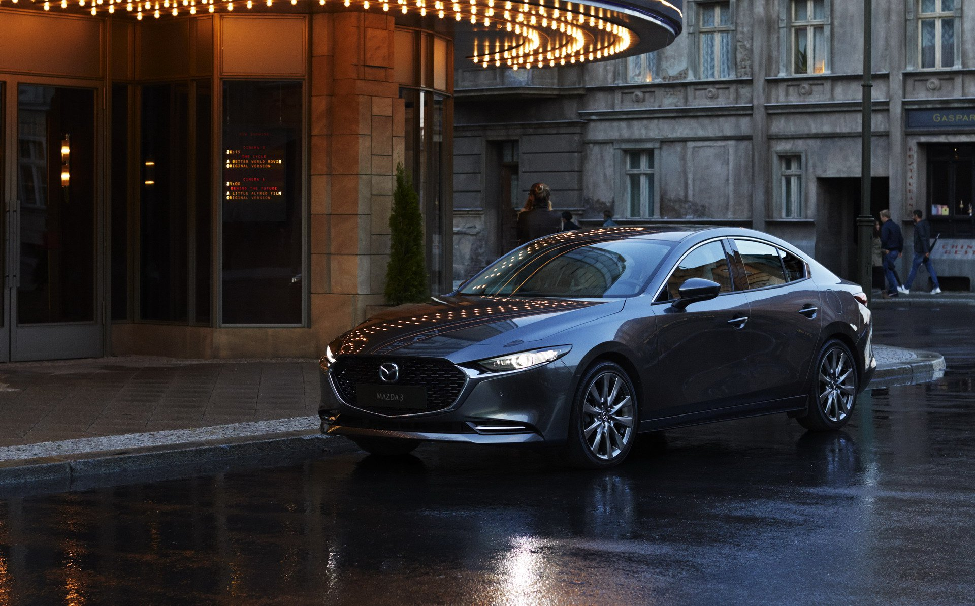 Mazda3 Hatchback and Mazda3 sedan 2019 (16)