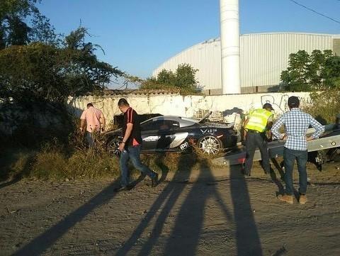 McLaren 650S And Porsche 911 Turbo S crashed (8)