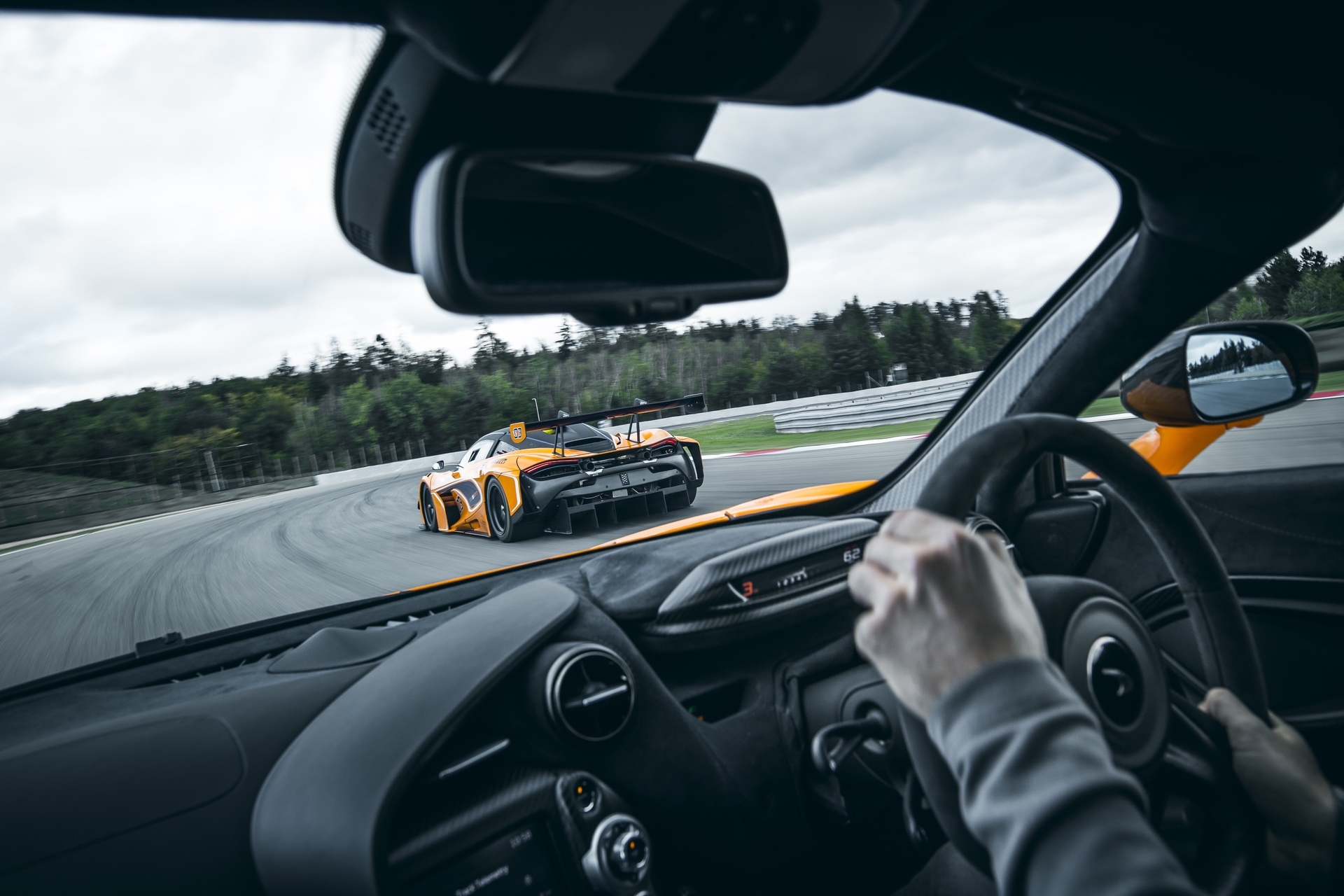 Mclaren 720s GT3 Testing - Brno