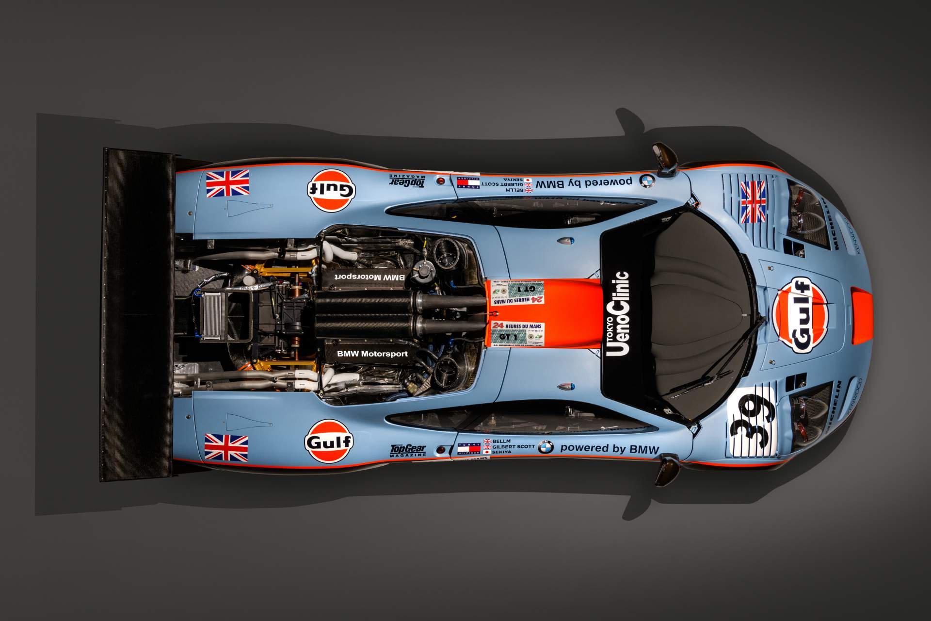 McLaren F1 GTR Longtail 25R restored by MSO (9)