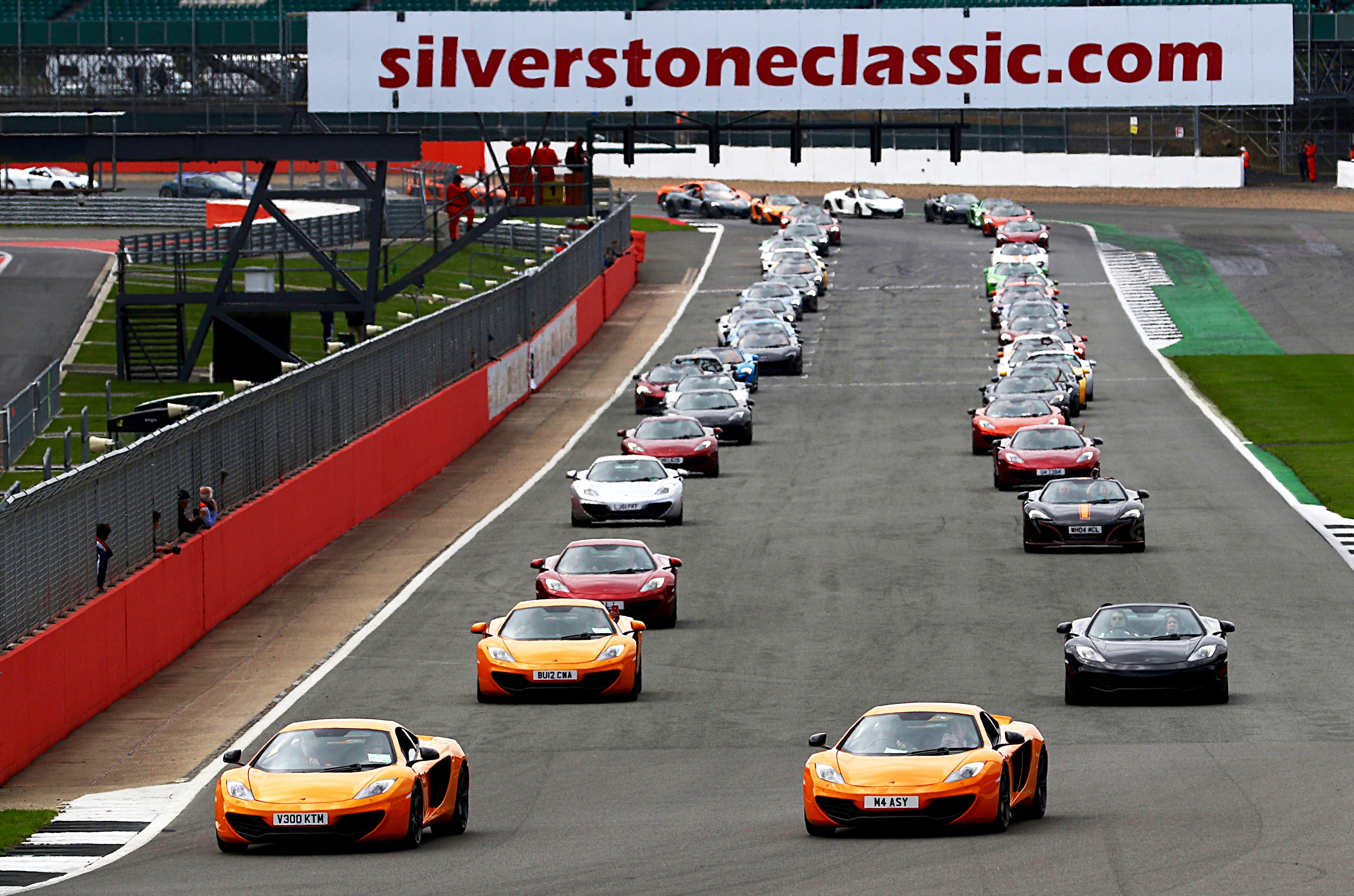Silverstone Classic 28-30 July 2017 At the Home of British Motorsport Parades McLaren Free for editorial use only Photo credit ñ JEP