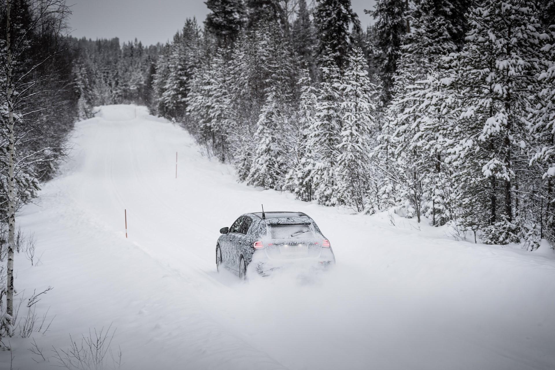 Wintererprobung Schweden W177