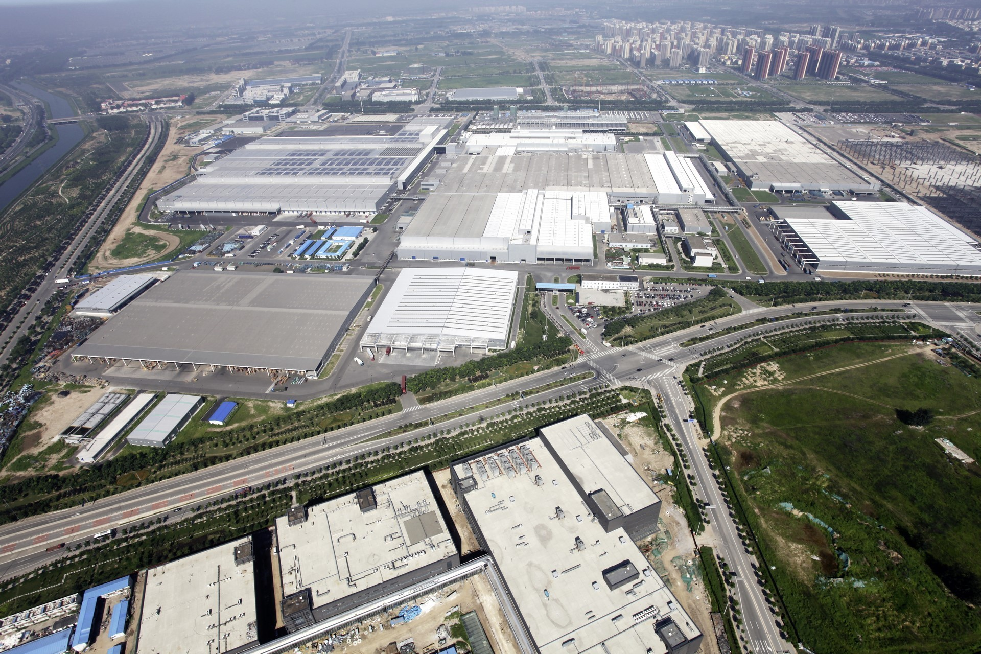 Produktionsstandort BBAC in Peking // Production site BBAC in Beijing (China)