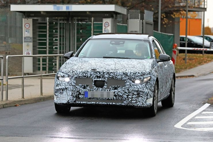 Mercedes C-Clas 2021 spy photos (1)