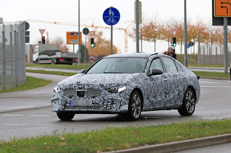 Mercedes C-Clas 2021 spy photos (11)