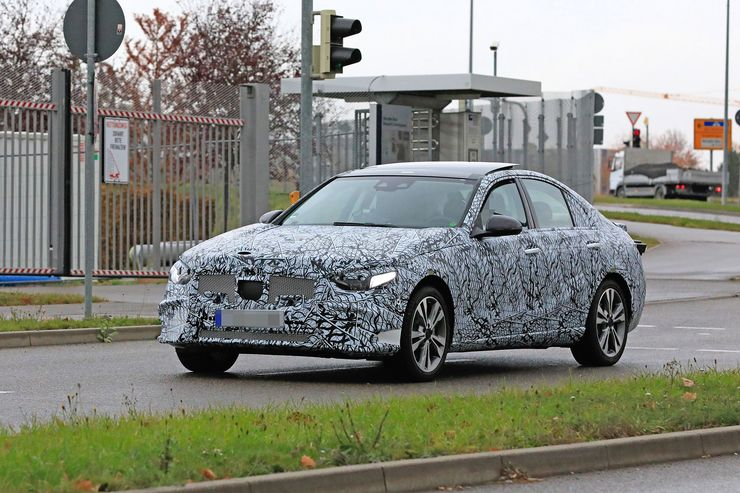 Mercedes C-Clas 2021 spy photos (12)