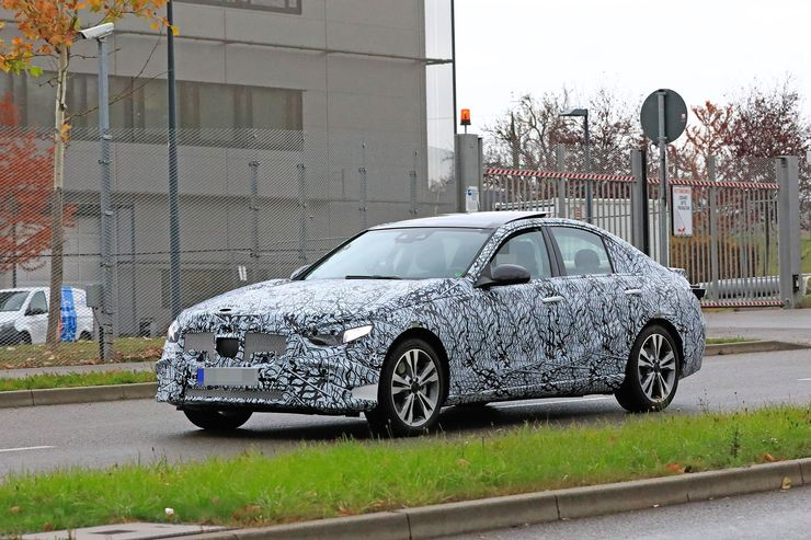 Mercedes C-Clas 2021 spy photos (13)