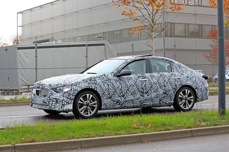 Mercedes C-Clas 2021 spy photos (14)