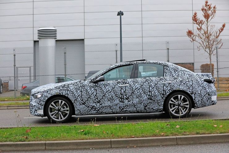 Mercedes C-Clas 2021 spy photos (15)