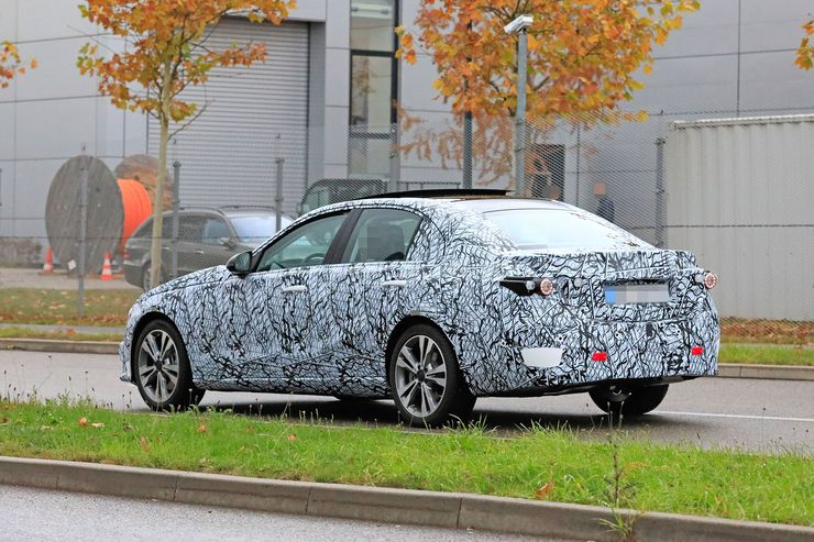 Mercedes C-Clas 2021 spy photos (17)