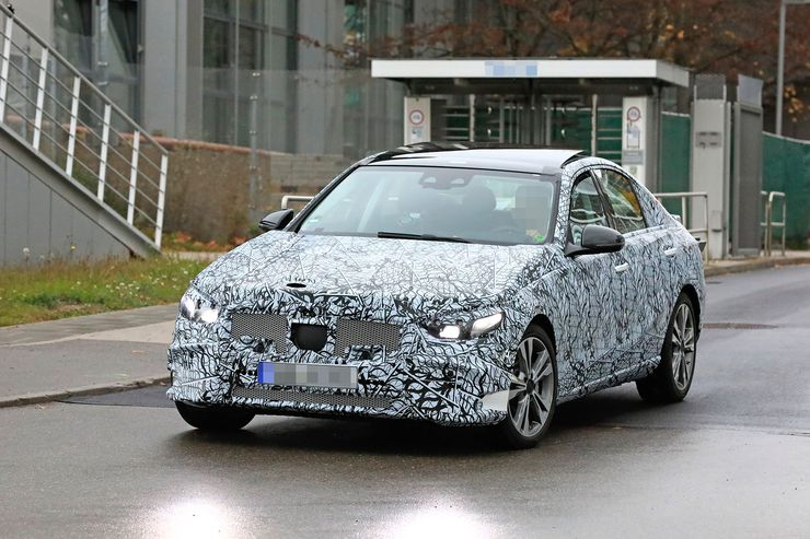 Mercedes C-Clas 2021 spy photos (2)