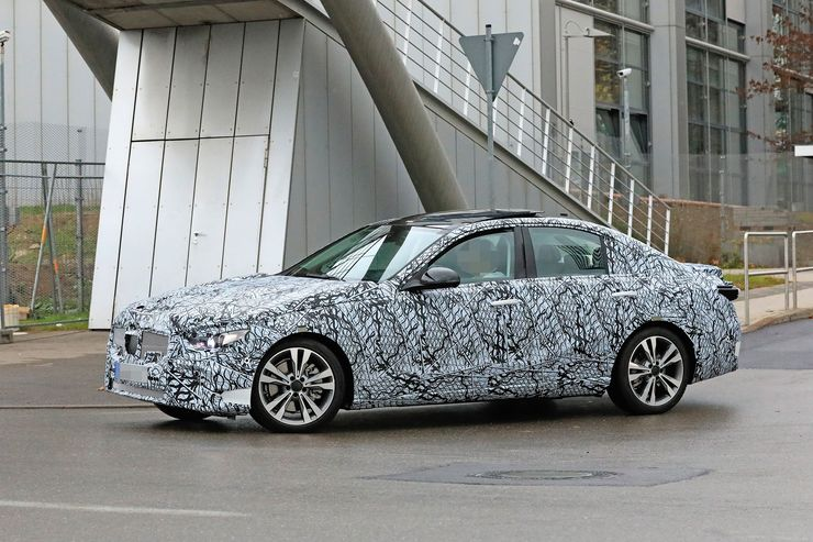 Mercedes C-Clas 2021 spy photos (4)