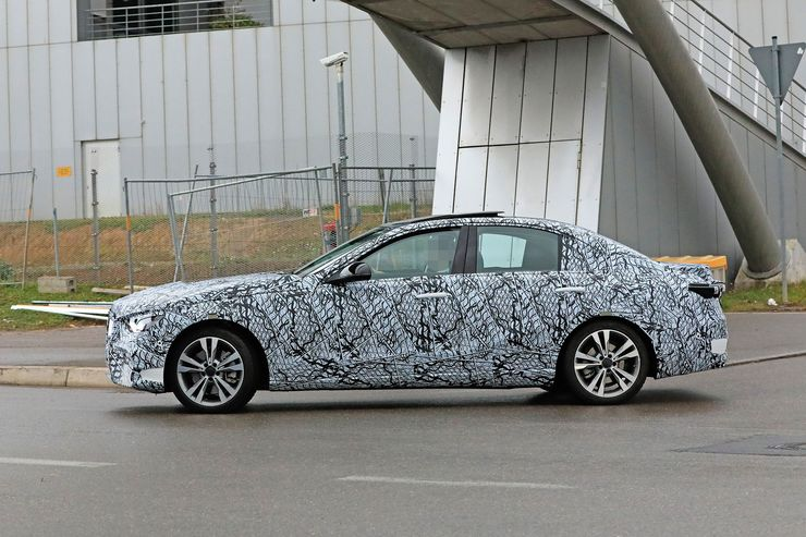 Mercedes C-Clas 2021 spy photos (5)