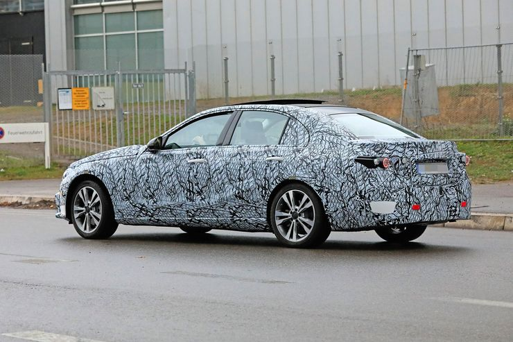 Mercedes C-Clas 2021 spy photos (7)