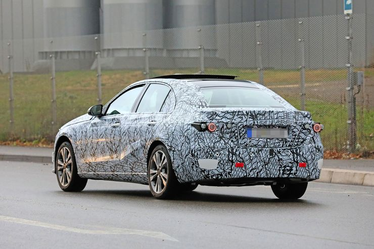 Mercedes C-Clas 2021 spy photos (9)