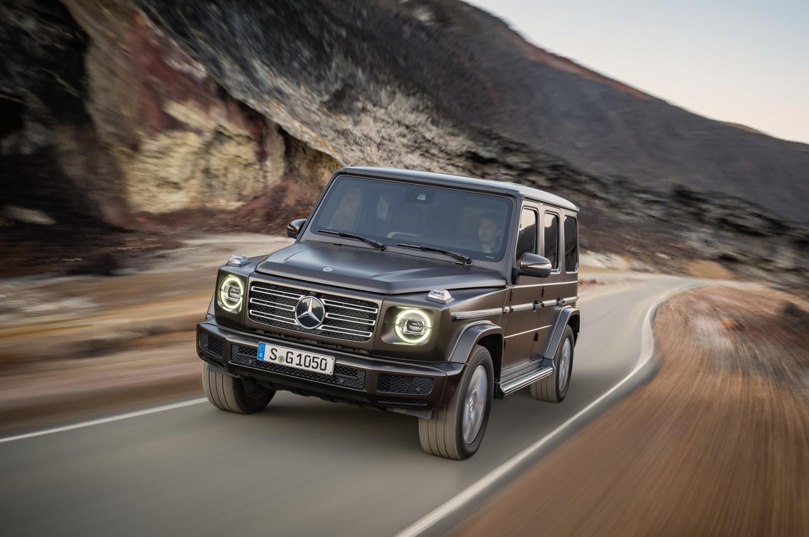 Mercedes-Benz G-Class 2018 (26)
