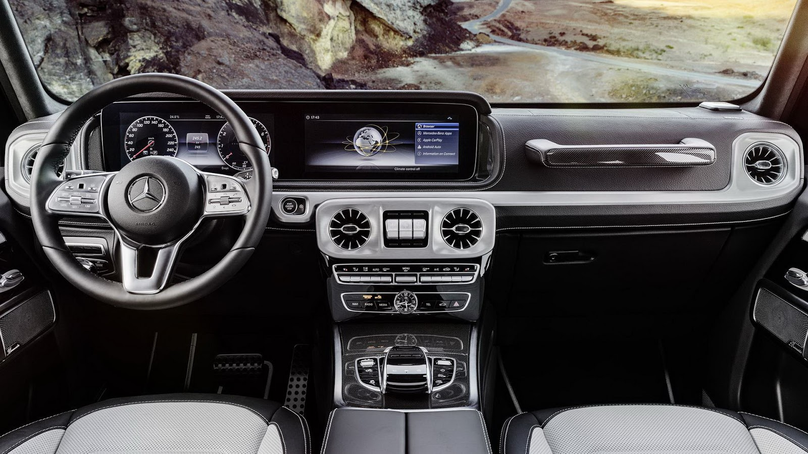 Mercedes-Benz G-Class 2018 (36)