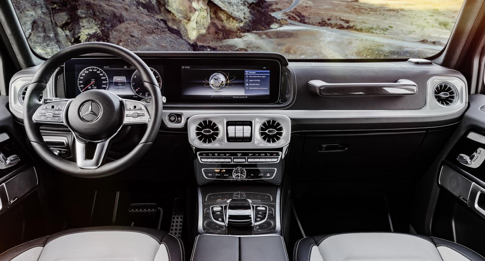 Mercedes-Benz G-Class 2018 (37)