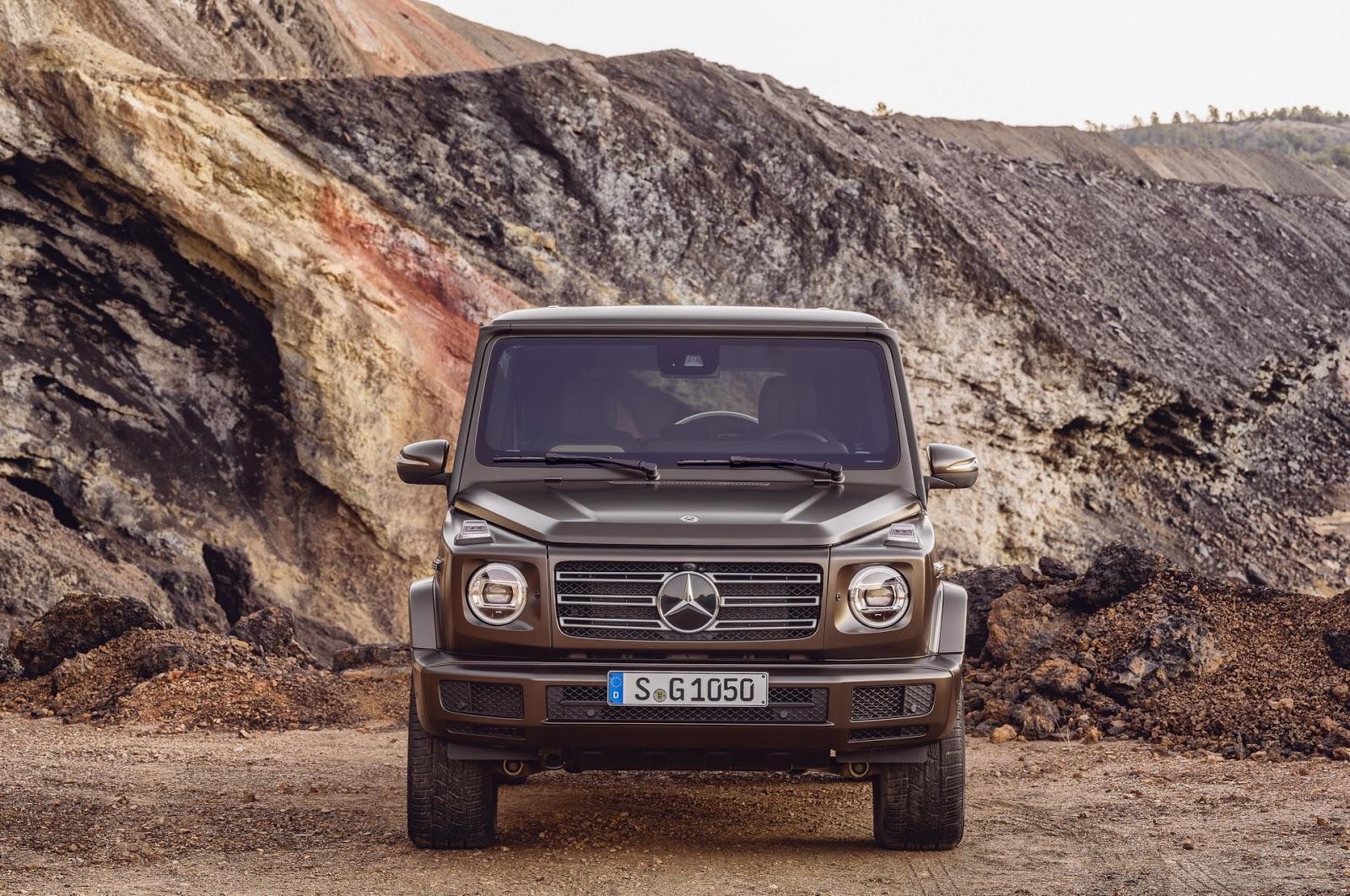 Mercedes-Benz G-Class 2018 (7)