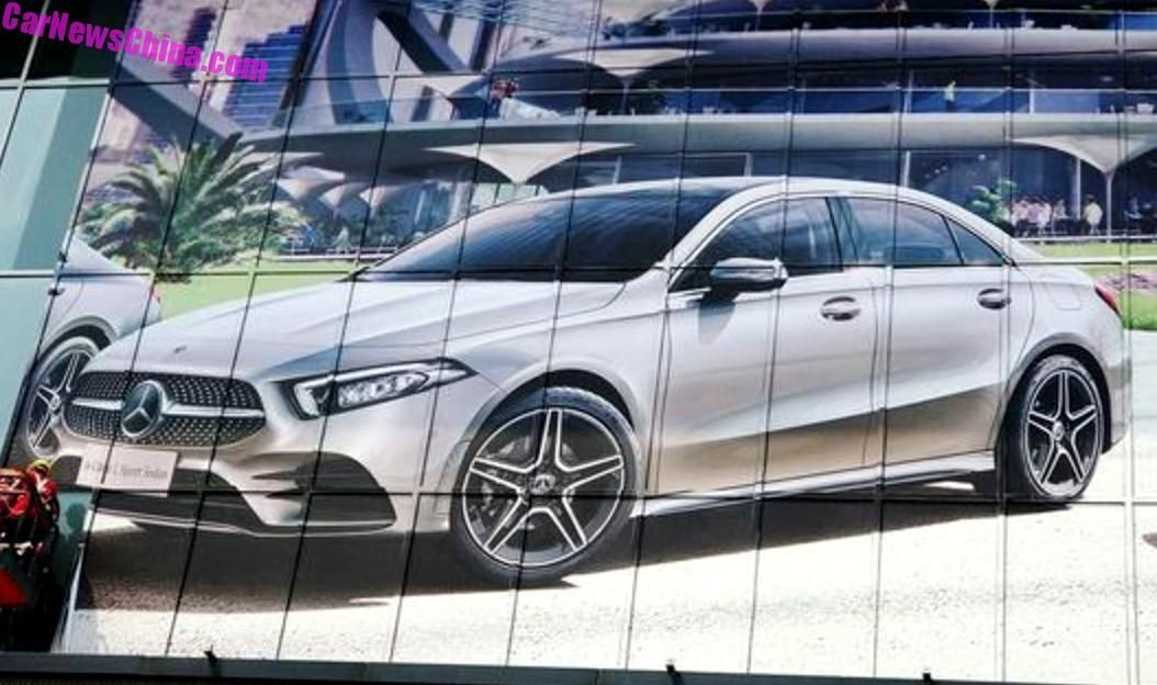 2019-mercedes-benz-a-class-sedan-lwb-china-leak