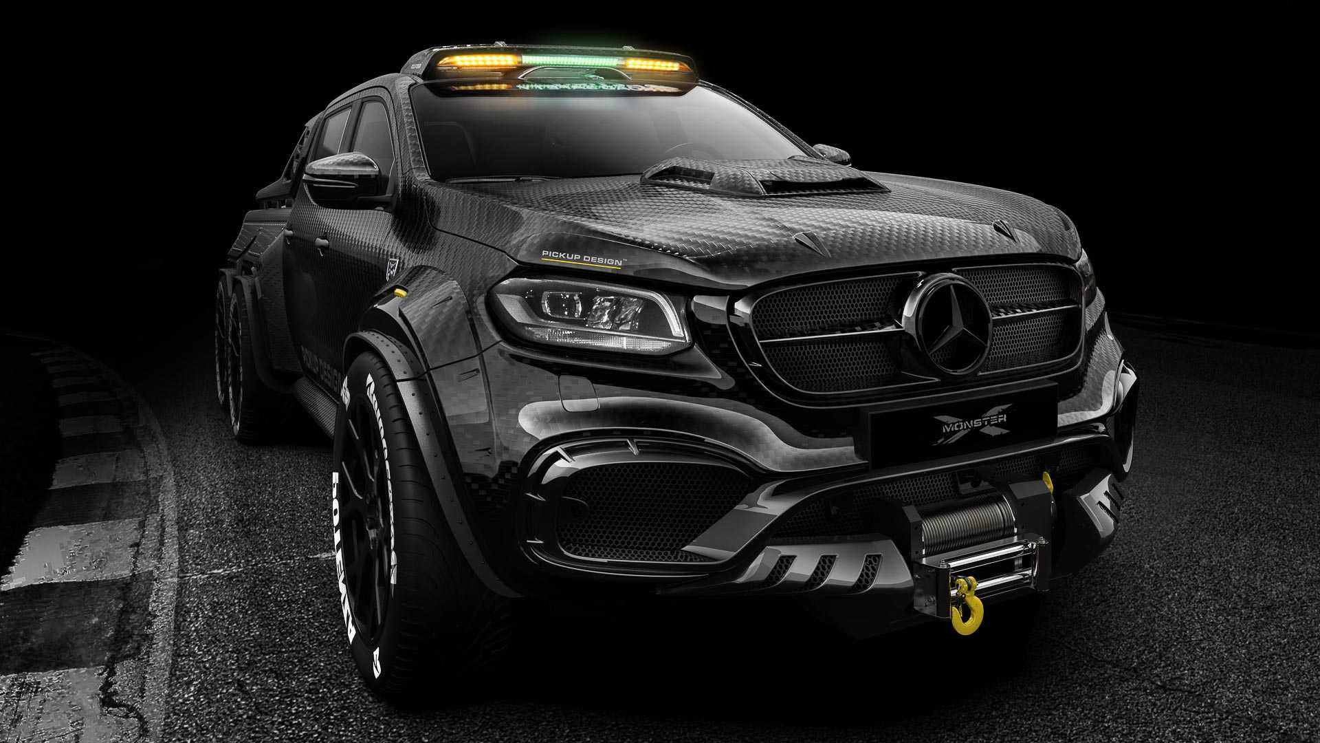 Mercedes X-Class Exy Monster X Concept by Pickup Design (1)