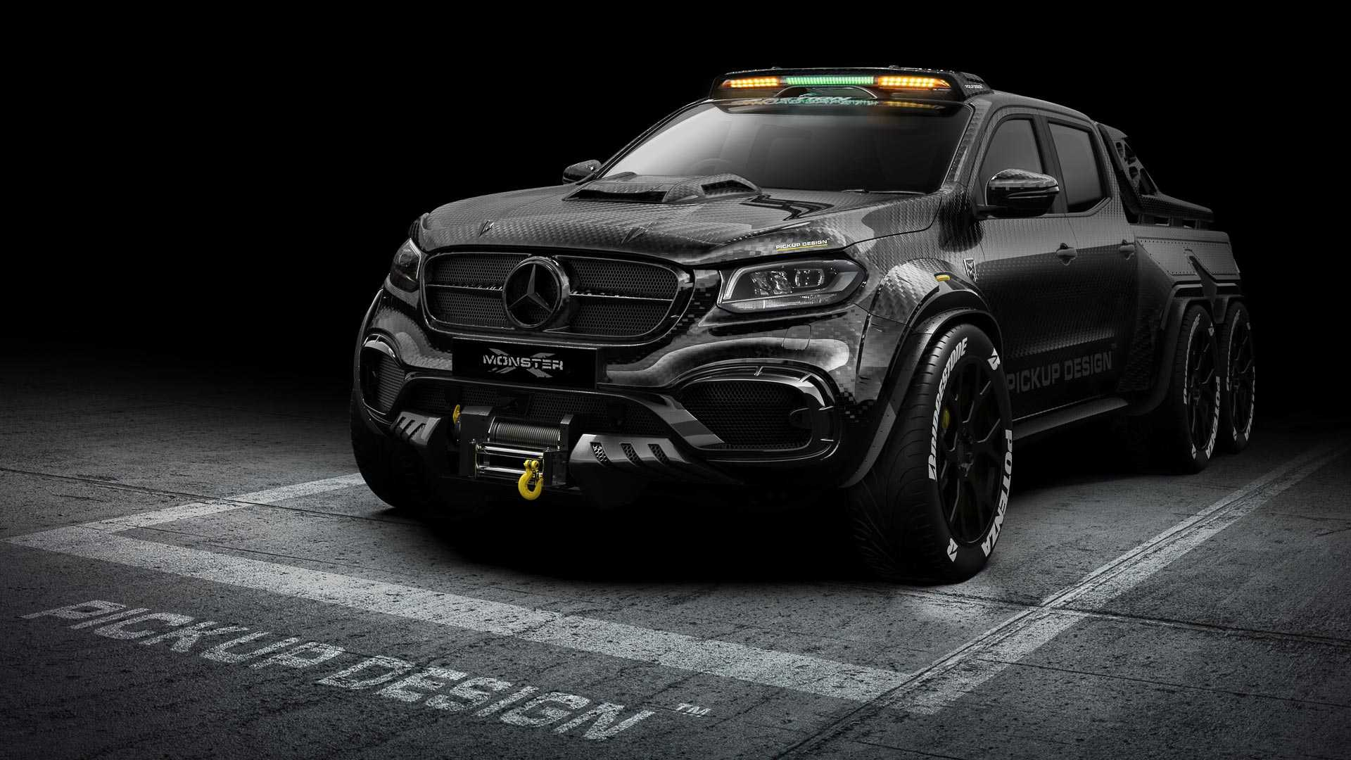 Mercedes X-Class Exy Monster X Concept by Pickup Design (2)