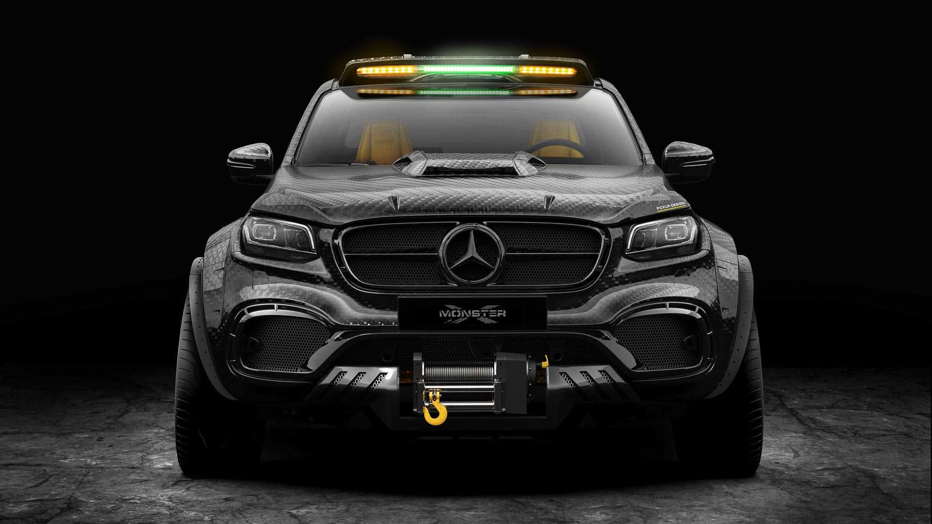 Mercedes X-Class Exy Monster X Concept by Pickup Design (3)