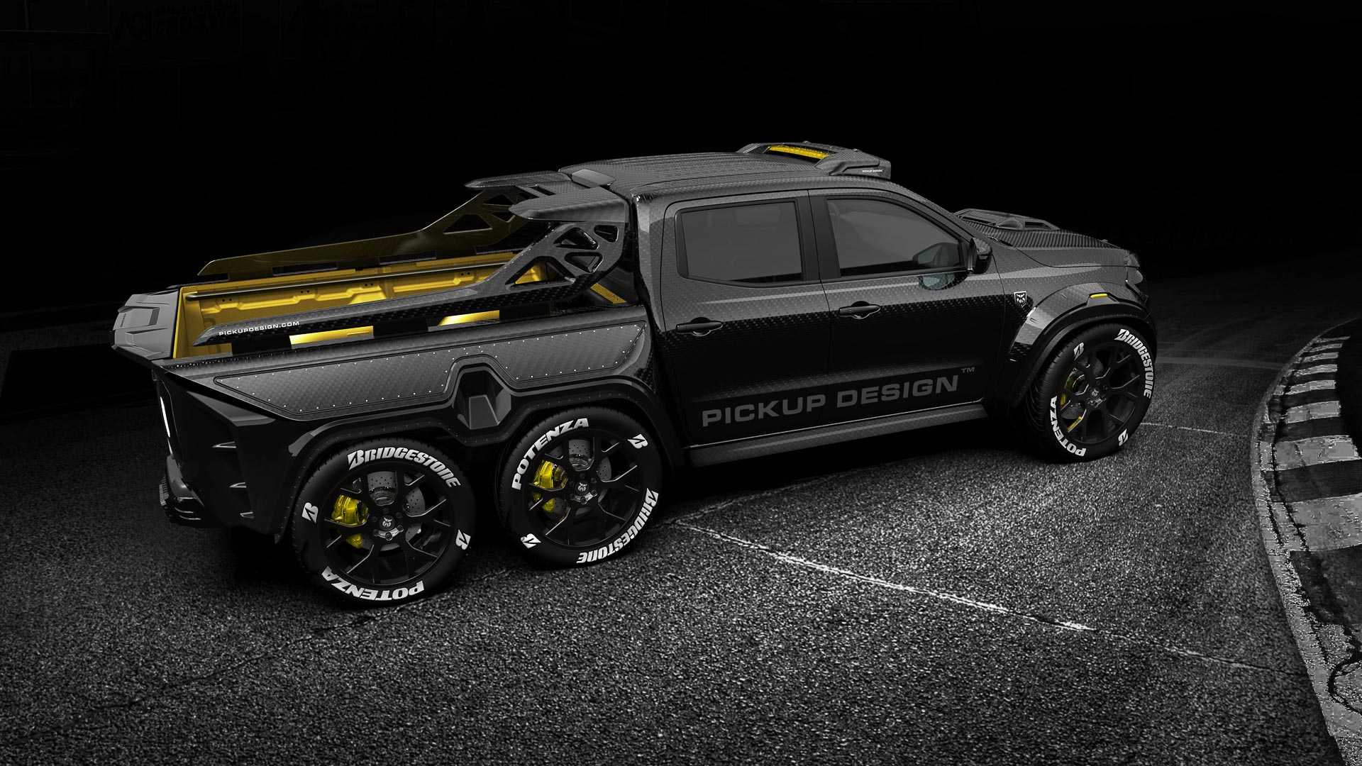 Mercedes X-Class Exy Monster X Concept by Pickup Design (5)