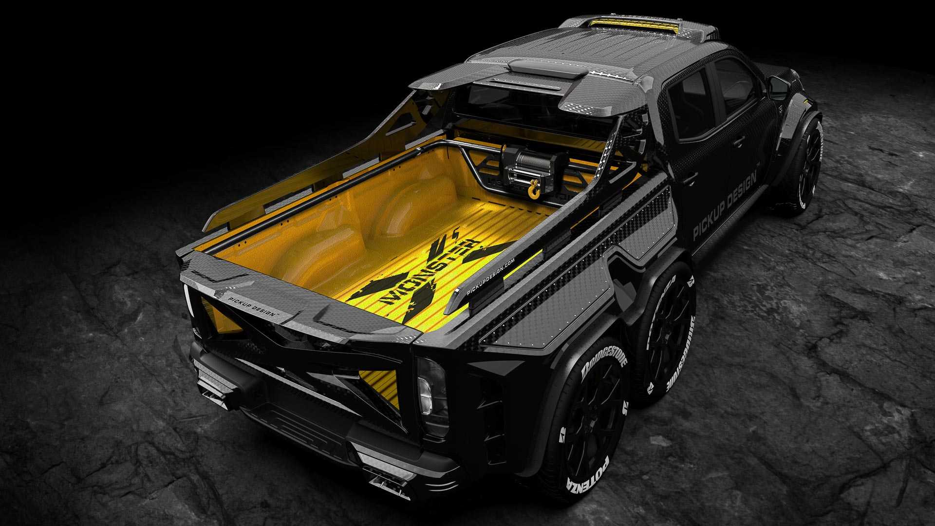 Mercedes X-Class Exy Monster X Concept by Pickup Design (6)