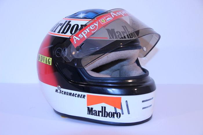 Michael Schumacher Bell helmet for auction (11)
