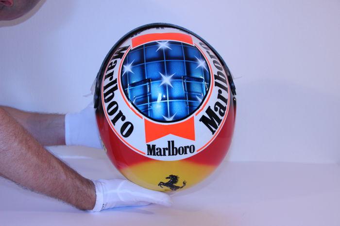 Michael Schumacher Bell helmet for auction (15)