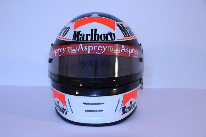 Michael Schumacher Bell helmet for auction (3)